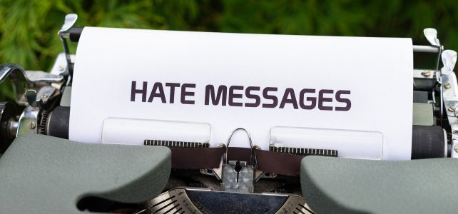 Hate Speech – When words become weapons in online networks